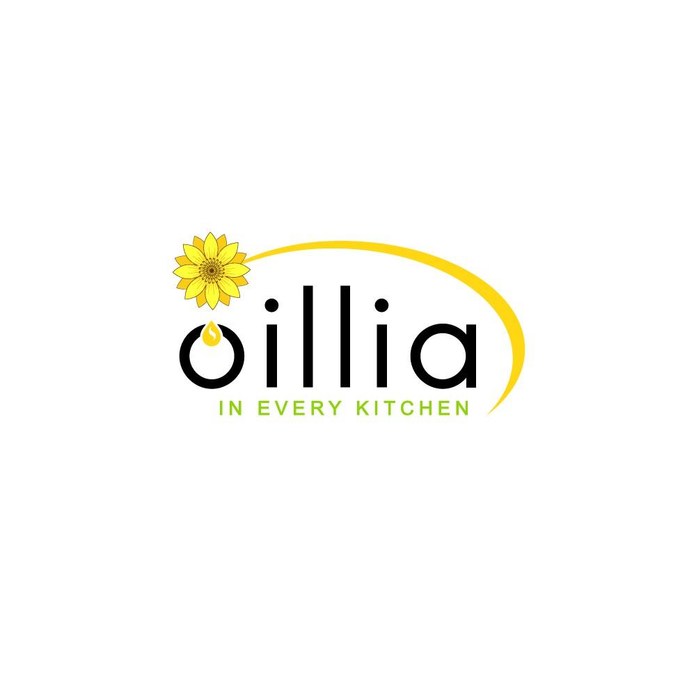 modern & luxury LOGO for HIGH OLEIC Sunflower Oil in Bottle