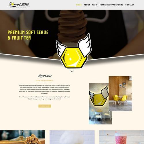 HoneyCreme Cafe and Desert Design