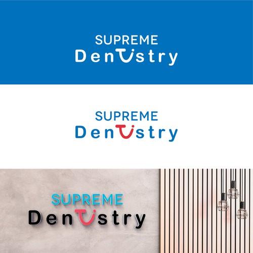 Design Logog SUPREME DENTISTRY