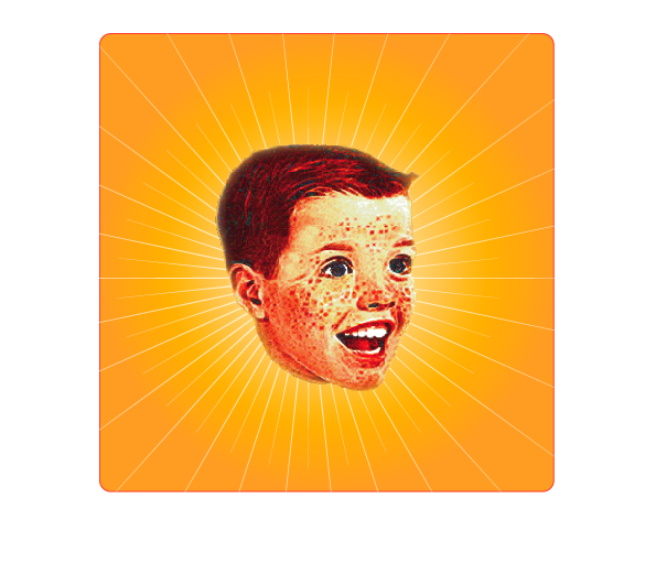Help Johnny Interactive with a new American 1950's style kid's head icon (1950's cereal box cartoon style)