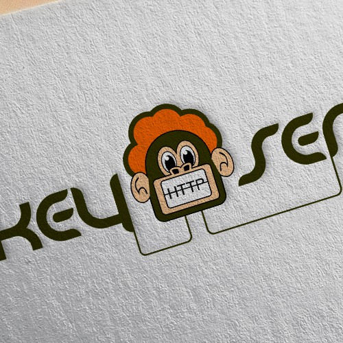 Monkey logo for server