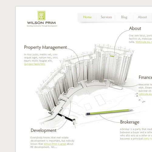 Novel Website for Real Estate and Finance Start-up!