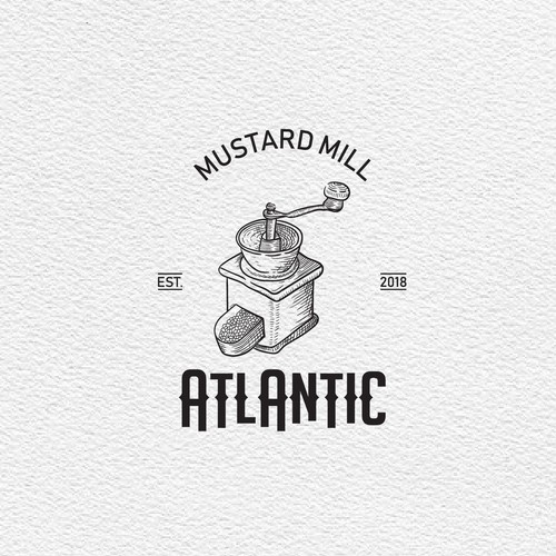 ATLATIC - mustard mill