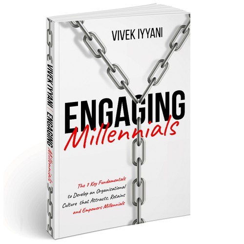 Book cover design for Engaging Millennials