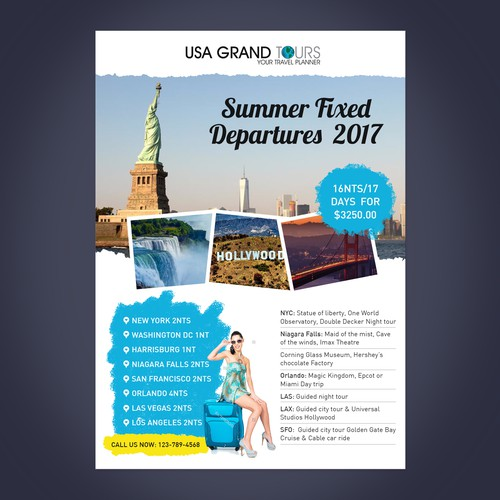 Travel Package Flyer