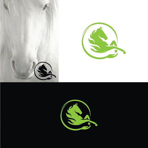 FOR SALE - horse logo