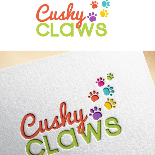 Create a colorful, catchy Logo for a nich pet product