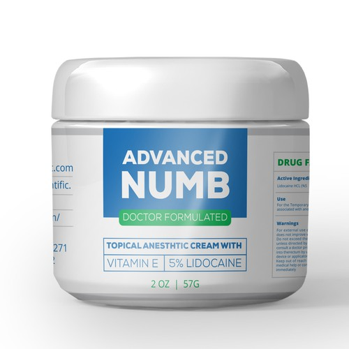 Create a Product Label for Advanced Numb