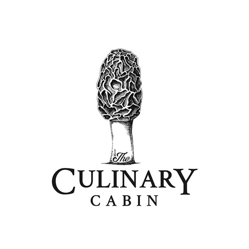 Logo concept for THE CULINARY CABIN
