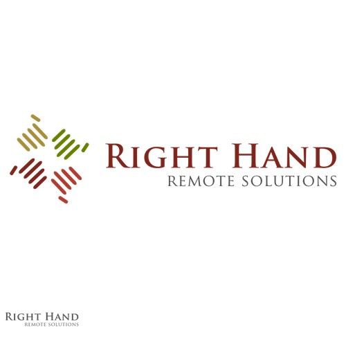 Help Right Hand Remote Solutions with a new logo