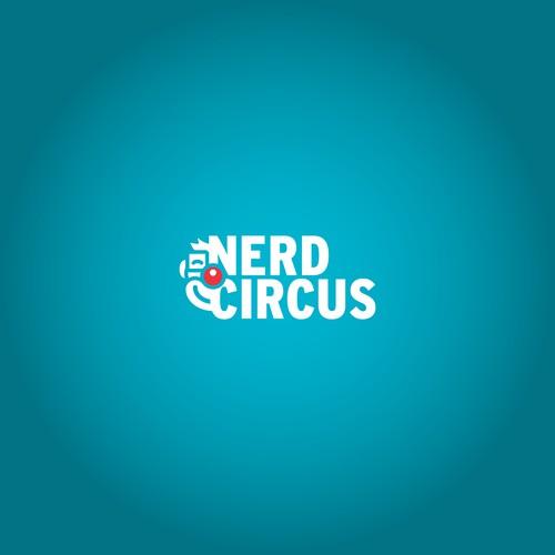 Nerdy blog brand identity