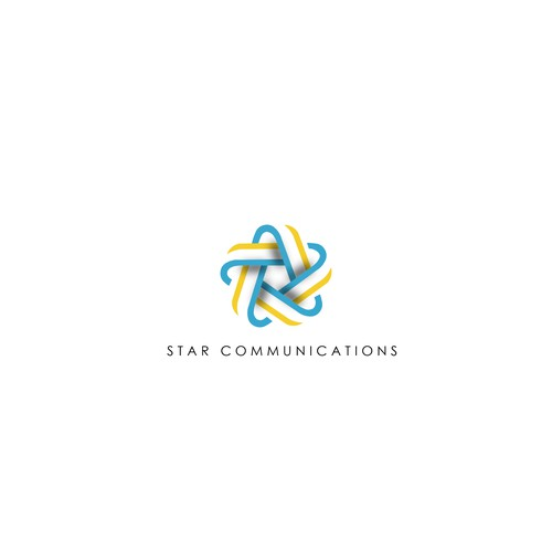 Beautiful uplifting logo for Star communications