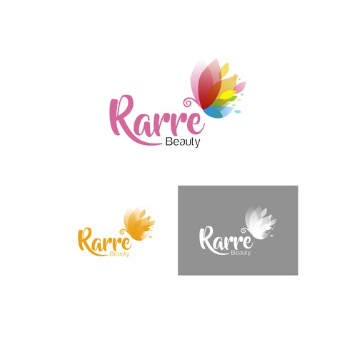 """Rarre Beauty"" Logo Designs"