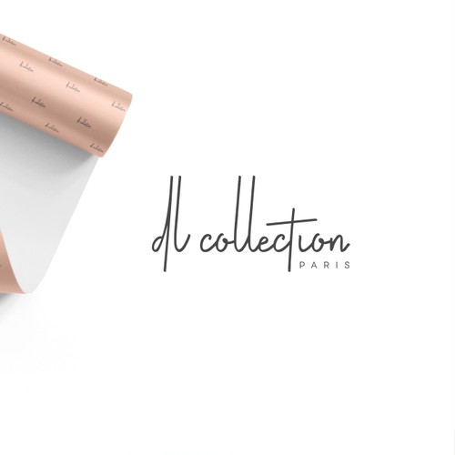 Develop a modern brand identity for new Parisian fashion brand DL Collection