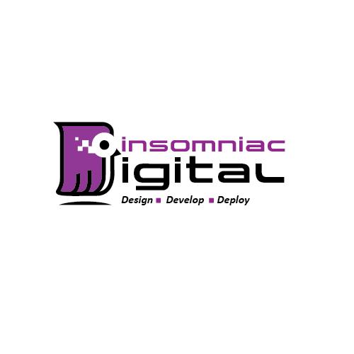 Digital Logo design with figure