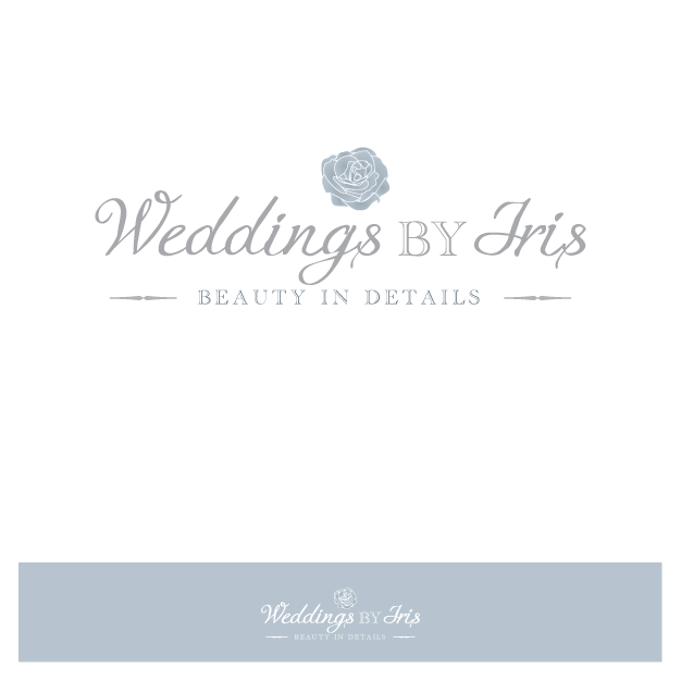 Create the next logo for Weddings by Iris