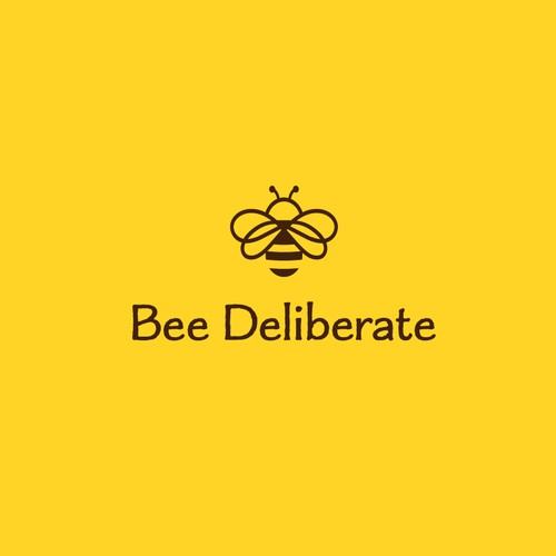 logo for Bee Deliberate