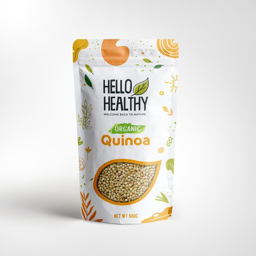Create Eye-Catching Packaging for Hello Healthy