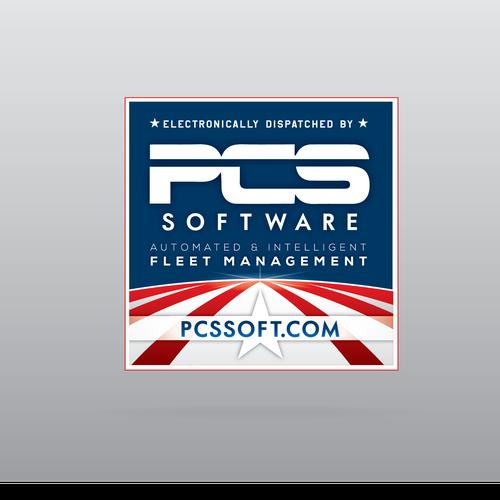 Sticker design for PCS Software