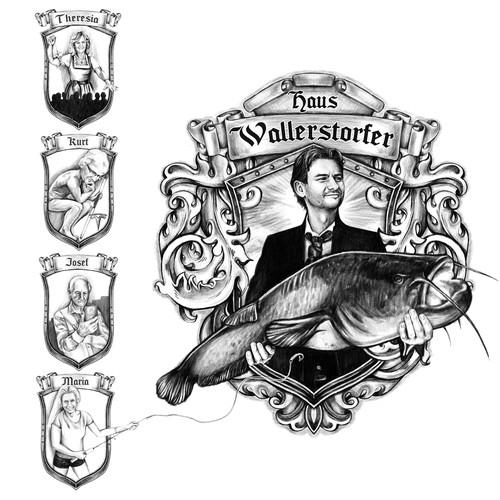 Family seal design.