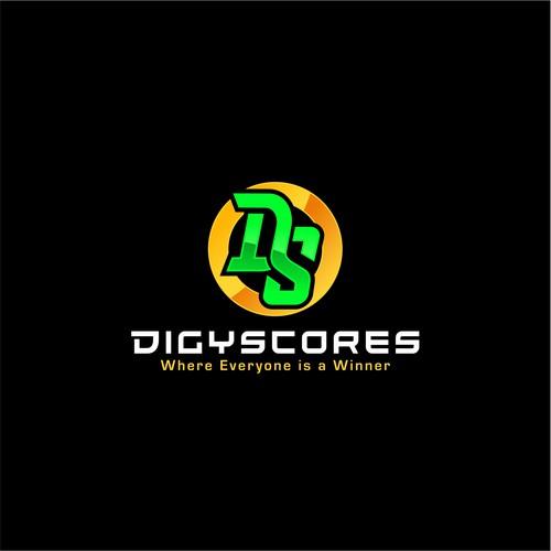 Bold logo concept for DigyScores