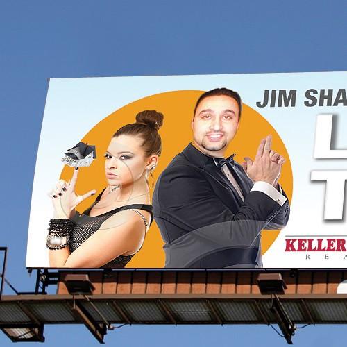 Design a Billboard for a Keller Williams Realty Agent