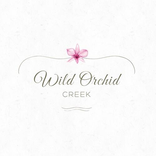Elegant logo concept for a wedding space
