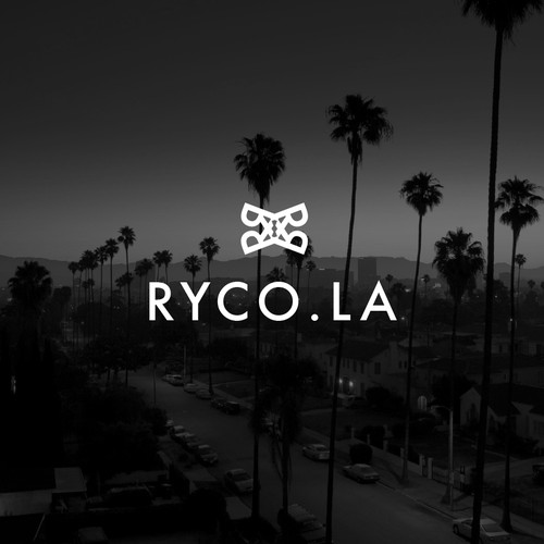 Bad ass logo for RYCO.LA with drone