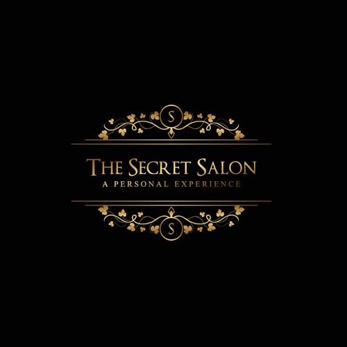 """Winning design for """"The Secret Salon""""."""