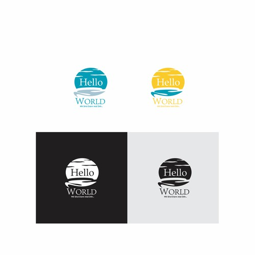 Travel and Hotel Logo HELLO WORLD