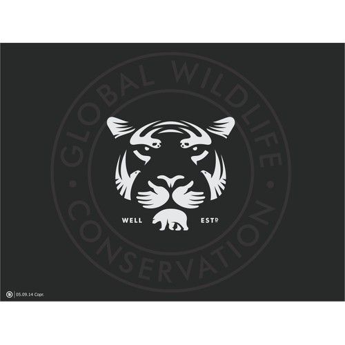 Create a logo for an innovative wildlife conservation organization