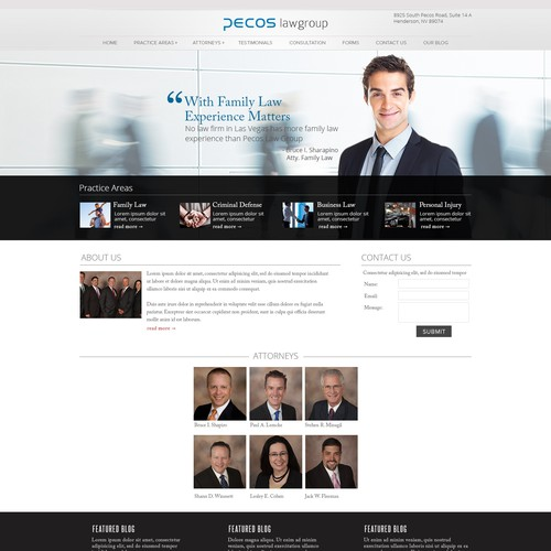 Attorney Website Redesign