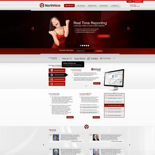 WebDesign For NorthNine