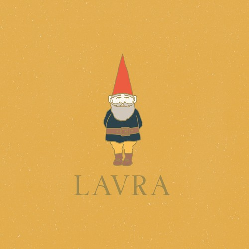 A kitsch and fun logo for fashion brand LAVRA