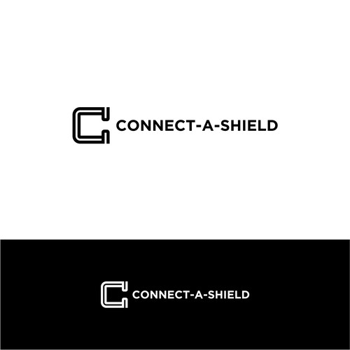 Clear line & smart logo design for CONNECT-A-SHIELD