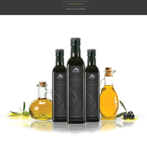 EVOO Bottle Label