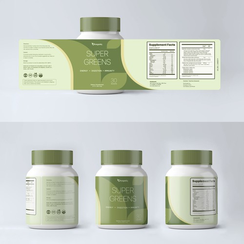 Label Design For Dietary Supplement