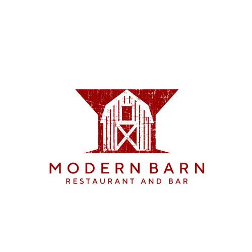 modern barn logo