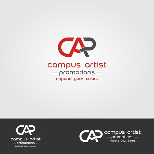 logo for campus artist promotions