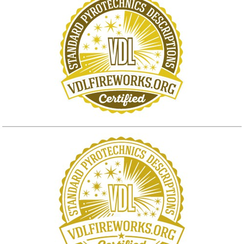 Logo Design for VDL Fireworks