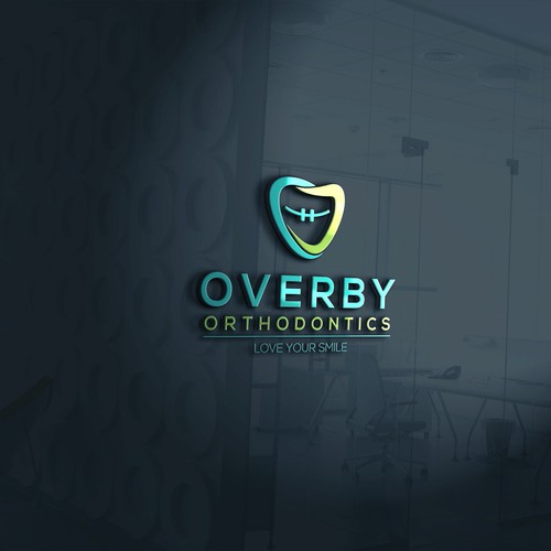 Bold logo concept for Overby Orthodontics