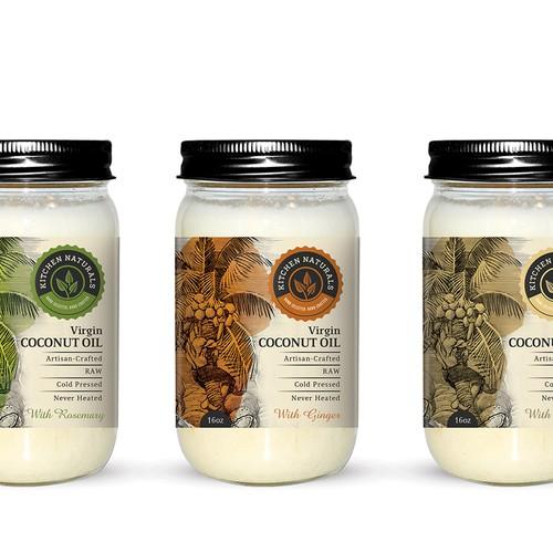 Kitchen Naturals Virgin Coconut Oil