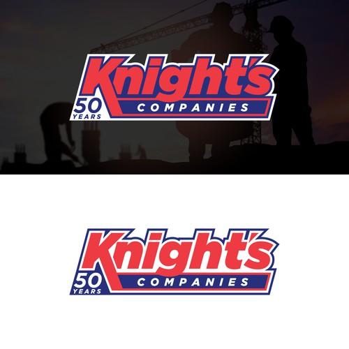 Knight's Companies rebranding logo