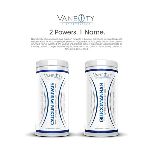 Very Motivated Weight Loss Co. has logo already, needs a complete label designed for vitamin bottle