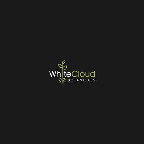 logo design for WhiteCloud Botanicals