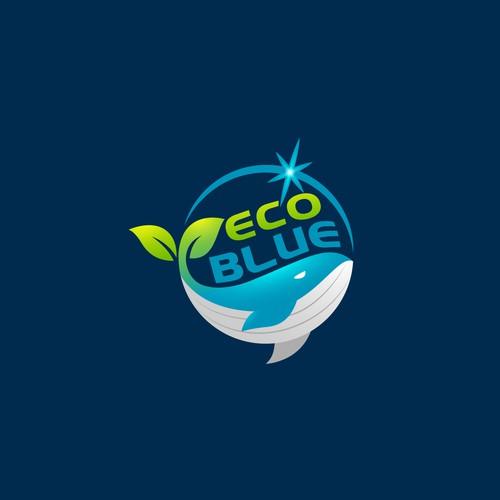 Eco Blue logo design