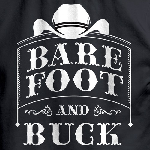 Barefoot and Buck Wild Country T-shirt