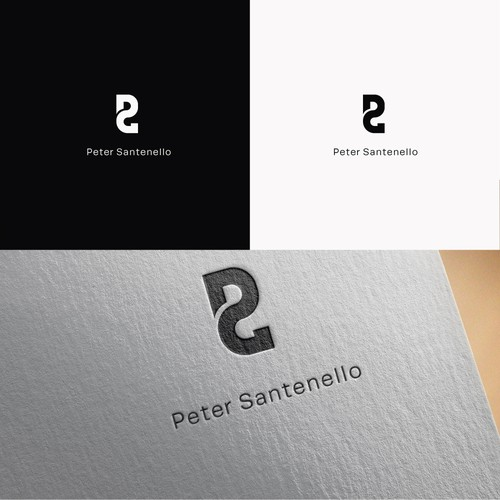 Concept of monogram for personal brand