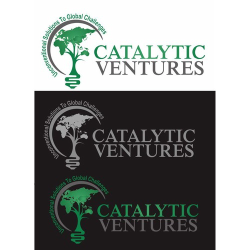 Create a powerful logo for Catalytic Ventures-- taking social enterprise to a new level