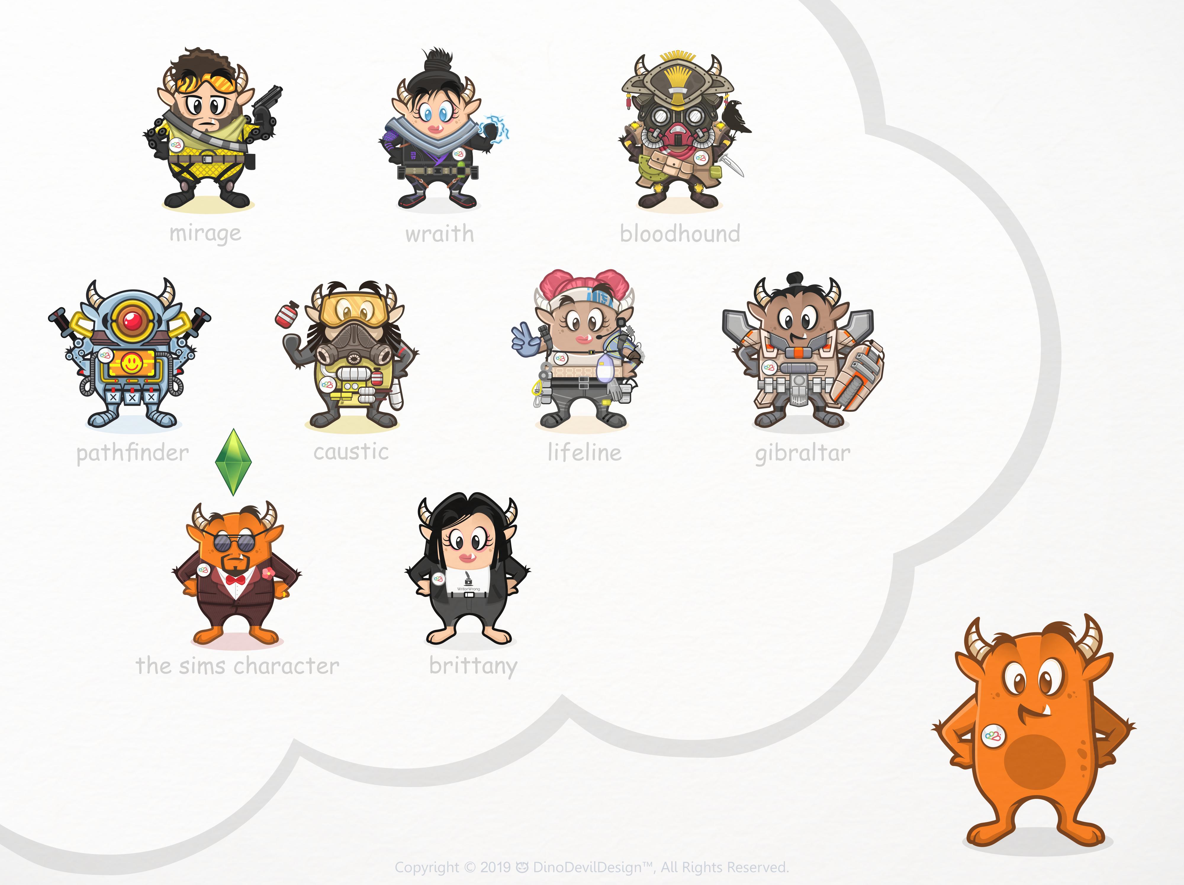8 More Role.Place Mascot Roles